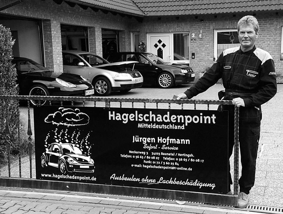 Jürgen Hofmann - Ausbeulen ohen Lackieren - Hagelschadenpoint Baunatal - Beulendoktor Kassel
